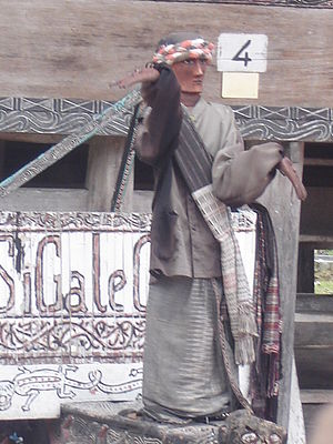 Sigale Gale - Sigale Gale puppet from Samosir
