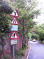 Signs, Rectory Lane, Ashtead - geograph.org.uk - 430371.jpg