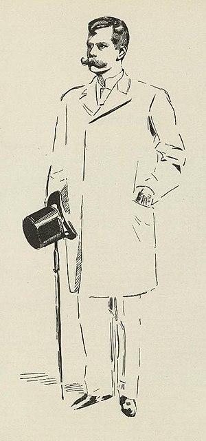 Sigurd Ibsen - Drawing of Sigurd Ibsen