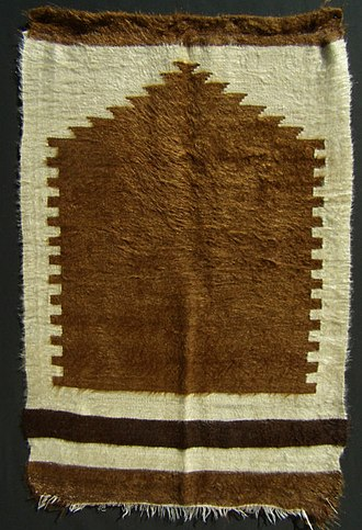 Prayer rug - Image: Siirt battaniyesi cl.lane.collection Circa Early 20th C