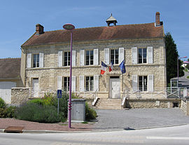 The town hall of Silly-la-Poterie