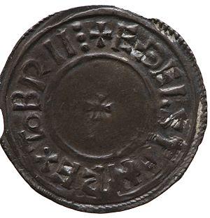 Æthelstan - Silver penny of King Æthelstan