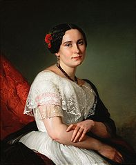 Portrait of Katarzyna Jahn, artist's sister.