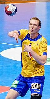 Simon Jeppsson Swedish handball player