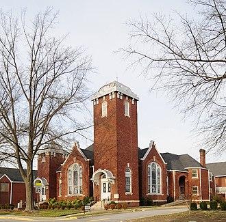First Baptist Simpsonville - Image: Simpsonville Baptist Church