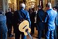 Singer Taylor Listens As Secretary Kerry Delivers Speech Honoring Victims of Last Week's Paris Shootings (16291720391).jpg