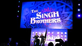 The Singh Brothers Professional wrestling team