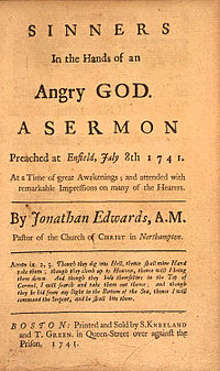Sinners in the Hands of an Angry God - Wikipedia