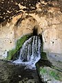 Siracuse, grotto nimphus. End of the Greek aqueduct Water runs from distance of 35km already 2500 years - panoramio.jpg