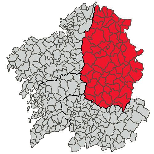 Situacion Provincia de Lugo