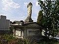 Skalbmierz - cmentarz nagrobek z 1878 r. (15.VIII.2007).JPG
