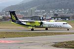 SkyWork Airlines Bombardier DHC-8-402 Q400 HB-JGA (23126340482).jpg