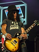 Slash in 2010.