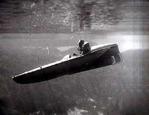 Motorised Submersible Canoe - Sleeping Beauty
