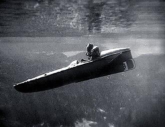 Motorised Submersible Canoe - Sleeping Beauty