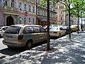 Smíchov, Stroupežnického, taxíky (01).jpg