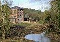 Smestow Brook at Greensforge Mill, Staffordshire - geograph.org.uk - 657419.jpg