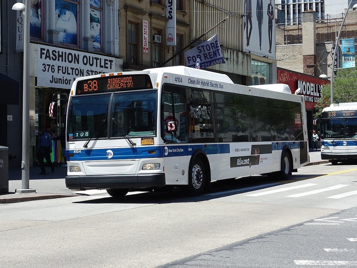 B36 Bus Time >> B38 New York City Bus Wikipedia