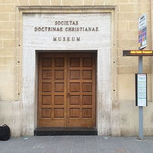Society of Christian Doctrine - Entrance to the mother-house of the society