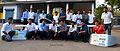 SolarMobil Manipal Team Photo at MAHE automobile workshop 2012 even semester.jpg
