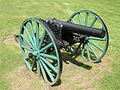 Soldiers Monument cannon - Gardner, MA - DSC00875.JPG