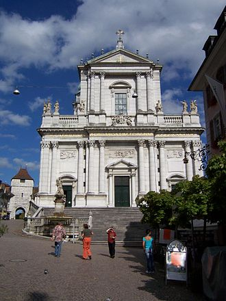 Roman Catholic Diocese of Basel - Solothurn Cathedral, the seat of the diocese