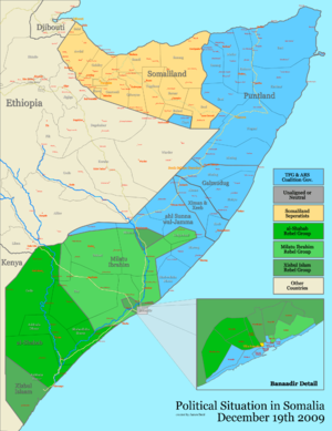 2010 in Somalia - Situation in Somalia as of 1 January 2010