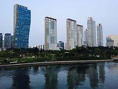 south koreas hi tech city - HD1200×900