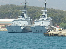 List of French current frigate...
