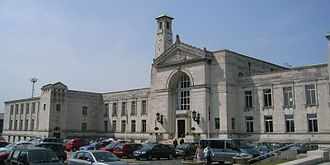 Southampton Civic Centre - The south wing of the civic centre, containing mostly council offices.