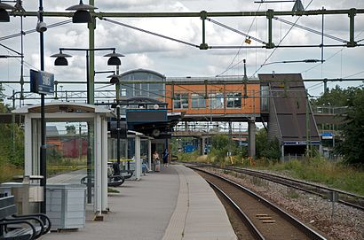 How to get to Spånga Station with public transit - About the place