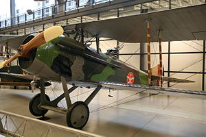 SPAD S.XI - Spad XVI at National Air and Space Museum