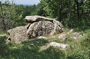 Prehistoric Iberia - Dolmen near Moià in Catalonia.