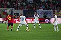 Spain - Chile - 10-09-2013 - Geneva - Francesc Fabregas and Arturo Vidal.jpg