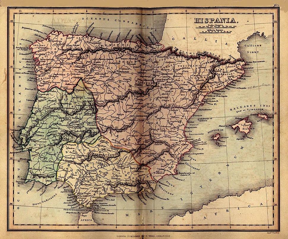 Spain 1849