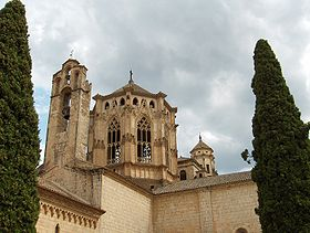 Spain PobletMonastry BellTowers.jpg