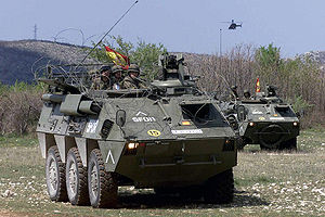 Pegaso BMR - Spanish Army BMR-PPs.