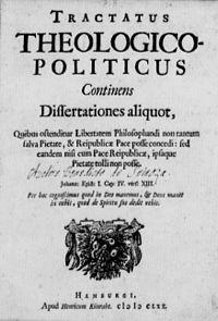 Tractatus Theologico-Politicus cover