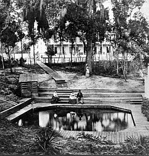 Green Cove Springs, Florida - The spring (1870s)