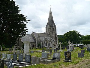 St Catherine's Church, Llanfaes - Image: St. Catherine's Church, Llanfaes geograph.org.uk 878253
