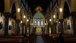 St. Mary's Church, Toronto - Interior