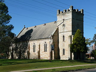 St James Anglican Church, Morpeth Church in New South Wales, Australia