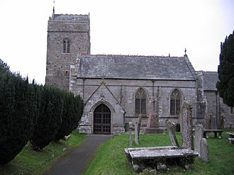 Listed buildings in Brigham, Cumbria - Image: St Bridgets Church Brigham geograph.org.uk 78401
