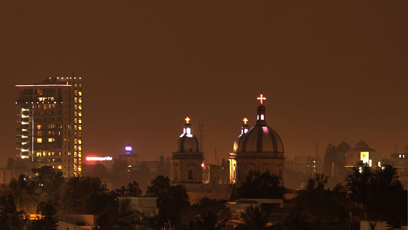 File:St Francis Xavier Cathedral, Bangalore night.jpg