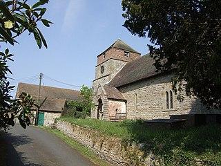 St Giles Church, Barrow Church in Shropshire, England