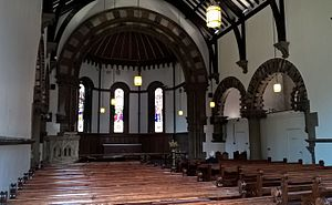 St James's University Hospital - Chapel interior