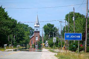 Lakeshore, Ontario - Image: St Joachim ON
