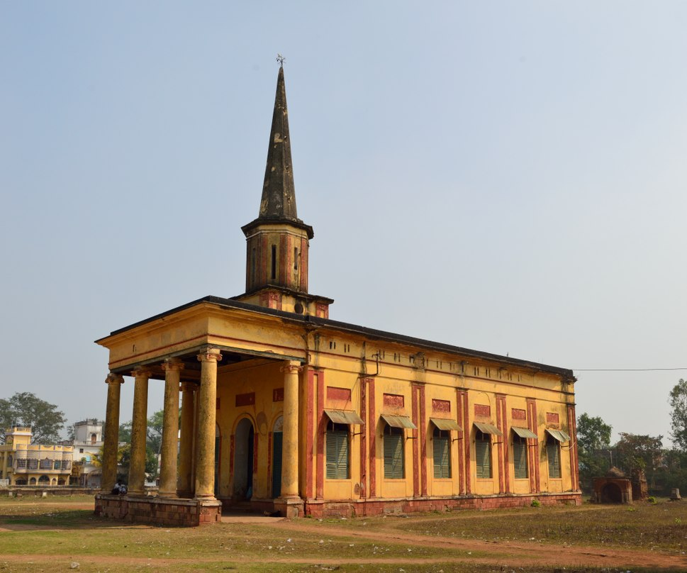 St Johns Church - South-western View - West Midnapore - 2015-02-25 6142-6143
