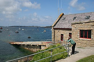 St Mary's Lifeboat Station - Image: St Mary's Lifeboat Station geograph.org.uk 812163
