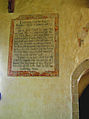St Marys Church, Radnage, Bucks, England Wall painting Creed S wall nave.jpg